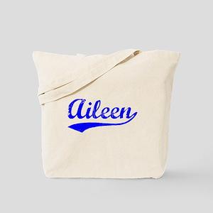 Vintage Aileen (Blue) Tote Bag