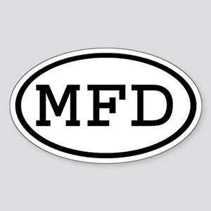 MFD Oval Oval Sticker
