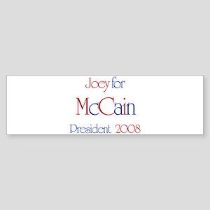Joey for McCain 2008 Bumper Sticker