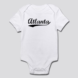 Vintage Atlanta (Black) Infant Bodysuit