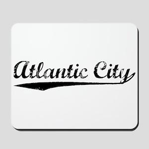 Vintage Atlantic C.. (Black) Mousepad