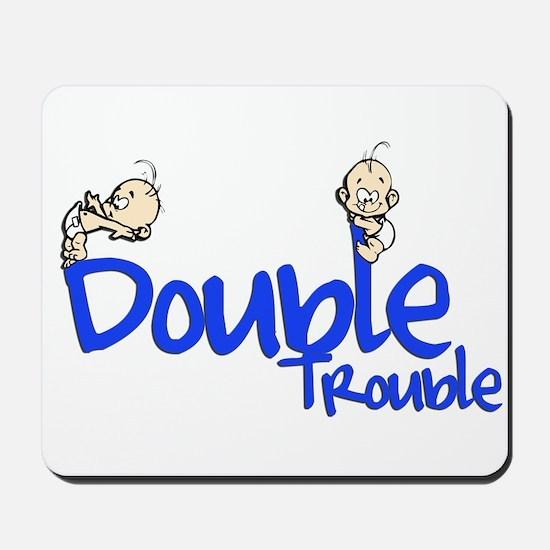 Double Trouble Mousepad