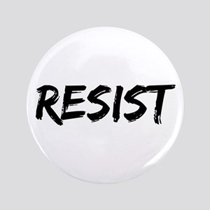Resist In Black Text Button