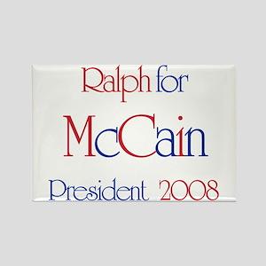 Ralph for McCain 2008 Rectangle Magnet