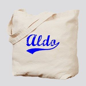 Vintage Aldo (Blue) Tote Bag