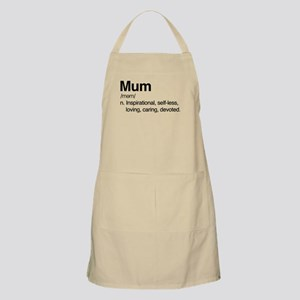 Mum Inspirational Light Apron