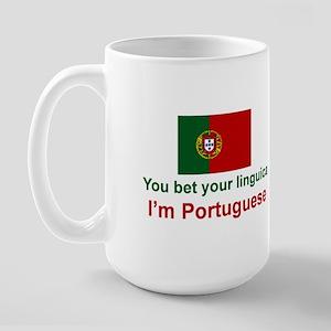 Portuguese Linguica Large Mug