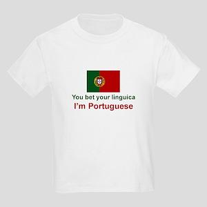 Portuguese Linguica Kids Light T-Shirt