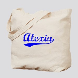 Vintage Alexia (Blue) Tote Bag