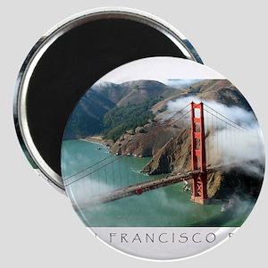 San Francisco Bay Fog Magnets