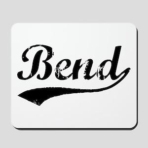 Vintage Bend (Black) Mousepad