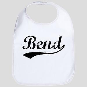 Vintage Bend (Black) Bib