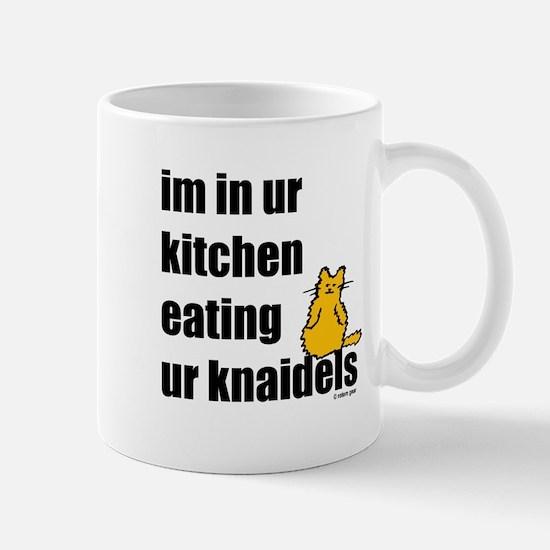 Cat and Knaidels Mug