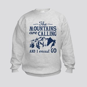 The Mountains Are Calling Sweatshirt