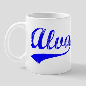 Vintage Alva (Blue) Mug