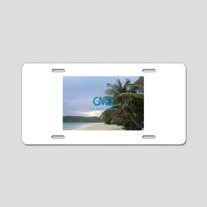 Clubra Beach Aluminum License Plate