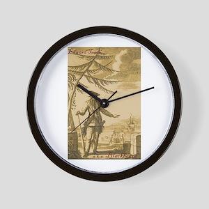 Blackbeard Wall Clock