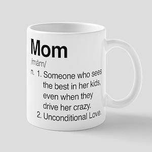 Mom Unconditional Love Mug