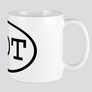 MDT Oval Mug