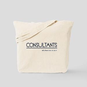 Consultant Joke Tote Bag