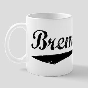 Vintage Bremerton (Black) Mug
