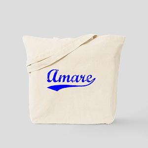 Vintage Amare (Blue) Tote Bag