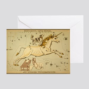 The Dog and the Unicorn Greeting Card