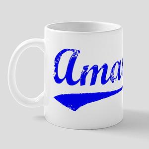 Vintage Amari (Blue) Mug
