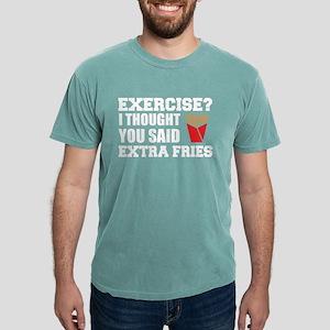 Exercise? I Thought Extra Fries T-Shirt