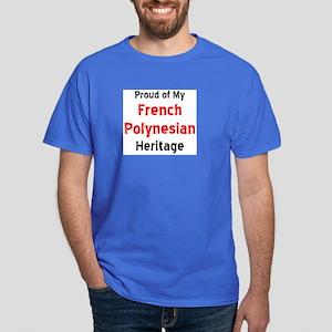 french polynesian heritage Dark T-Shirt