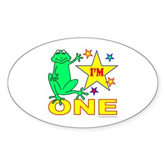 I'M ONE Oval Decal