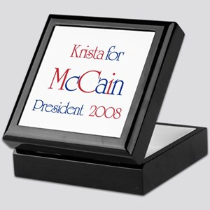 McCain for President - Krista Keepsake Box