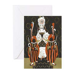 Vintage Queen of Hearts Greeting Cards (Pk of 20)