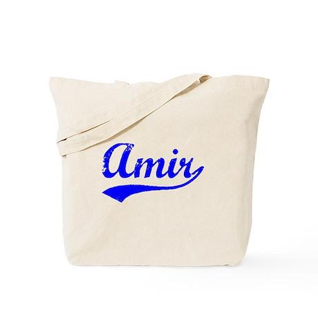 Vintage Amir (Blue) Tote Bag
