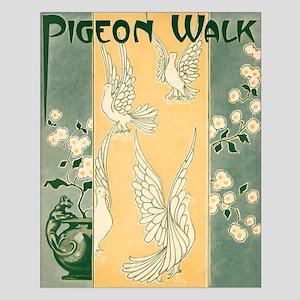 Pigeon Walk Small Poster
