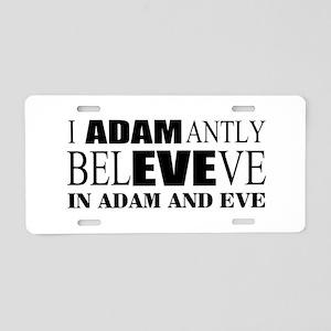 Religion belief Aluminum License Plate