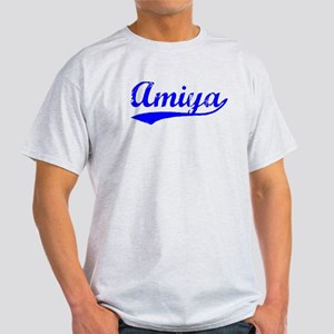 Vintage Amiya (Blue) Light T-Shirt