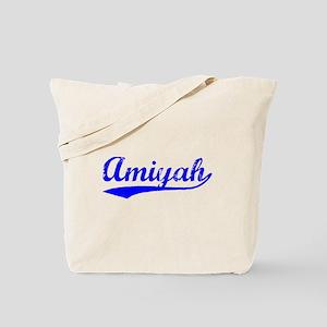 Vintage Amiyah (Blue) Tote Bag