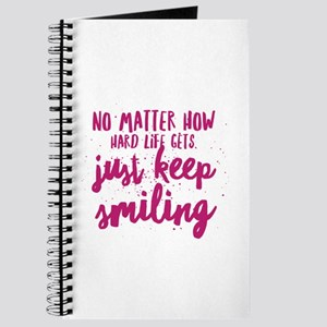 Keep Smiling Journal