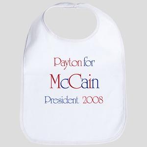 McCain for President - Payton Bib
