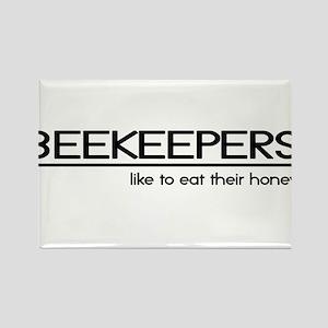 Beekeeper Joke Rectangle Magnet