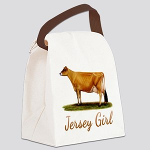 A Real Jersey Girl Canvas Lunch Bag
