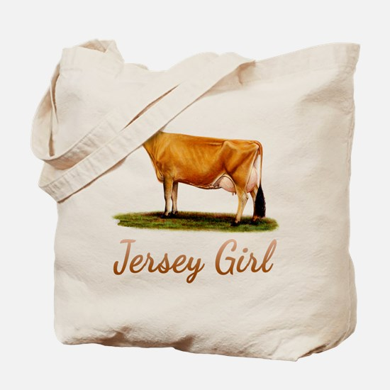 A Real Jersey Girl Tote Bag