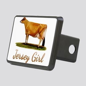 A Real Jersey Girl Rectangular Hitch Cover