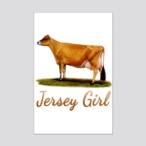 A Real Jersey Girl Mini Poster Print