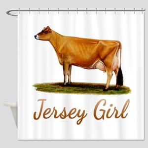 A Real Jersey Girl Shower Curtain