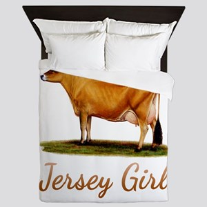 A Real Jersey Girl Queen Duvet