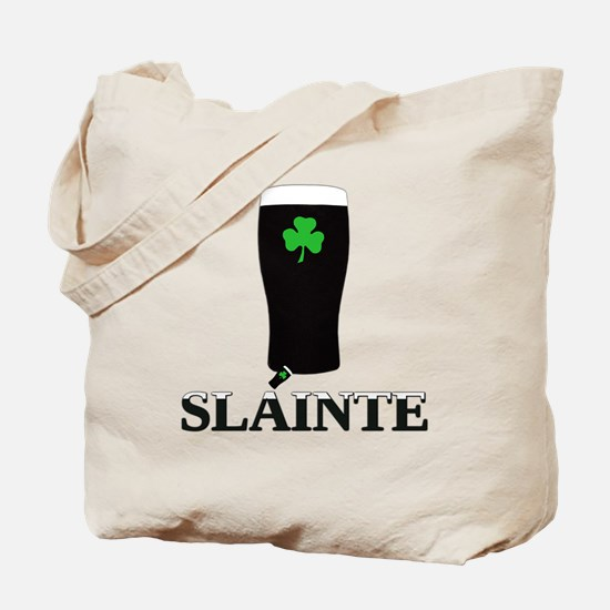 Slainte Irish Stout Tote Bag
