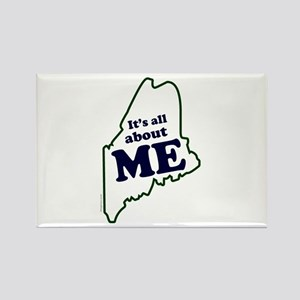 It's All About Maine Rectangle Magnet