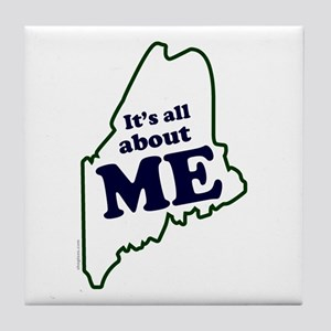 It's All About Maine Tile Coaster